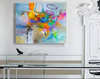 Modern Art Abstract Painting, Original Painting Canvas Art, Abstract Painting Canvas Art, Living Room Art, Large Abstract Painting Original