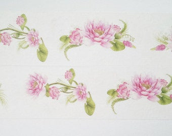 Design Washi tape Lily Pink