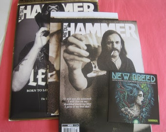 Metal Hammer Lemmy 1945-2015 Magazine CD Poster Package New old stock
