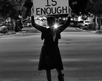 Enough is Enough: Some things are black and white