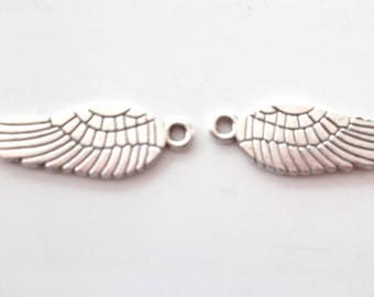 6 charms for creating jewelry art Eagle wings 8862488592