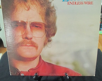 """Vintage Record """"Endless Wire"""" 1978  Gordon Lightfoot. Vinyl Records/Music/Man Cave/Craft/Classic Love Songs/ Date Night/ Summer Love"""