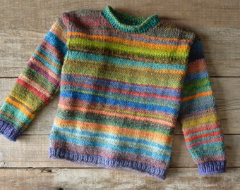 Colorful Kids Sweater 104/110