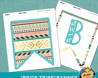 "Bride Tribe Bridal Shower Banner - ""Bride Tribe"" Banner. *INSTANT DOWNLOAD*"