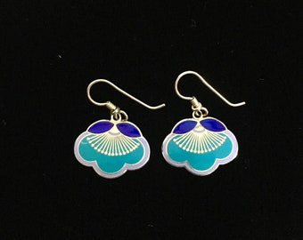 Laurel Burch Blossom Flower Earrings