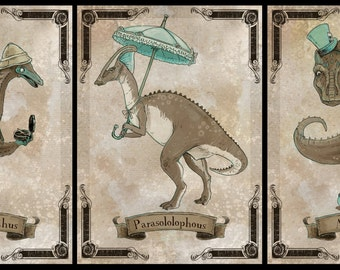 Black Friday / Cyber Monday Special Steamosaurus series 3 Trio of 5x7 prints