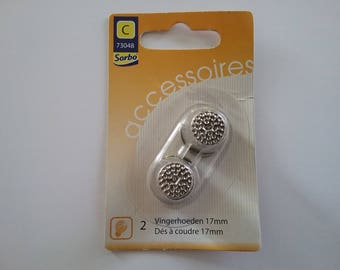 2 thimbles SORBO 17 mm