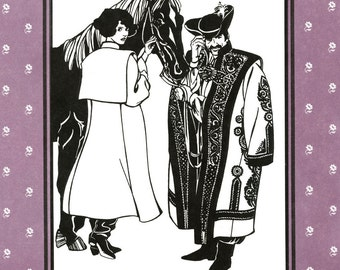 Folkwear Hungarian Szur Sewing Pattern # 150 Men & Women Mid-Calf Length Coat / Cape