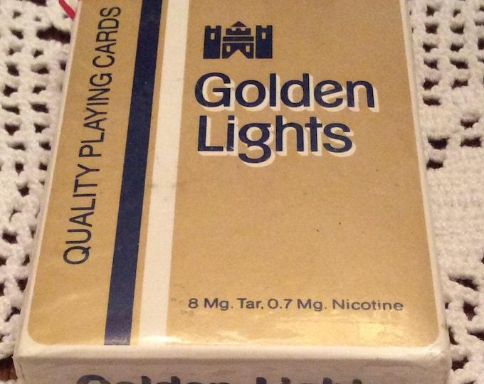 Playing Cards:  Kent Golden Light