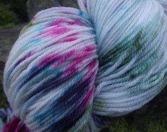 Handpainted sock yarn, fingering yarn, Superwash Wool and Nylon ,100 grams-Pegasus
