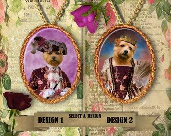 Norfolk Terrier Jewelry Norfolk Terrier Dog Pendant Norfolk Terrier Gift Norfolk Jewelry Norfolk Terrier Charm Custom Dog Porcelain Jewelry