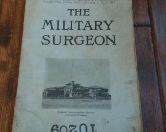 The Military Surgeon Vol 92 June 1943 No. 6 WW2