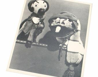 Kukla Fran and Ollie Childrens Show Promo Publicity Photo 1947 movie memorabilia