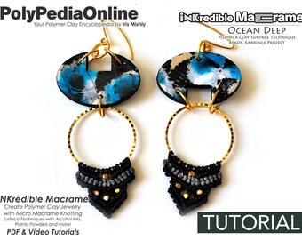 Macrame Pattern, Knotting Tutorial, Macrame Tutorial, Macrame Jewelry, Earrings Pattern, Handmade Earrings, DIY Beads, DIY Macrame, Craft