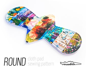 """ROUND Cloth Pad Sewing Patterns 