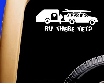 RV There Yet? Paddling Dogs decal