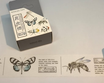 Insects Washi