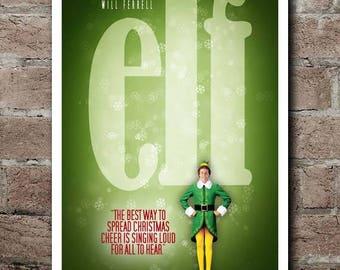 ELF Movie Quote Poster