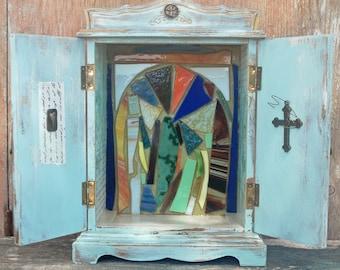 Shrine Altar Nicho Sanctuary Upcycled Box