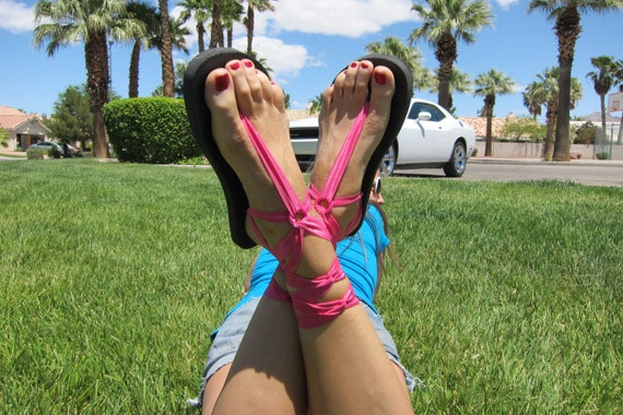 with Sandals Gladiator Women Laces Hot for Pink Short 7xITSF6qnx