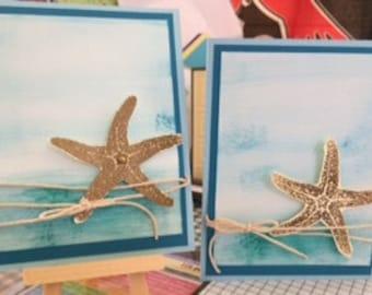 Starfish Greeting Cards (2)