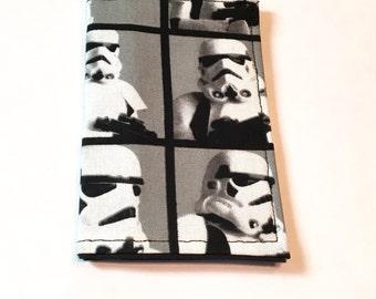 Stormtrooper wallet, Star Wars Card holder, business Card Holder, Park Pass Holder, Small Wallet