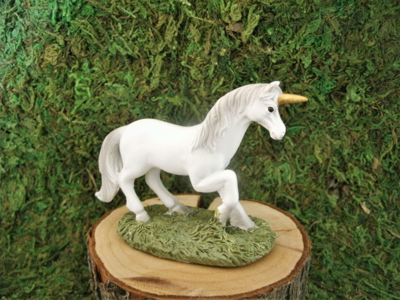 Mini Standing Unicorn Fairy Garden Terrarium Miniature
