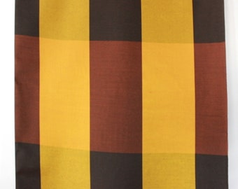 Sixties curtain fabric, unused vintage, by the meter