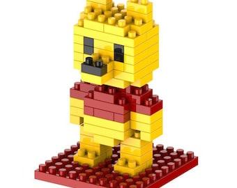 bear brick puzzle 72 pieces