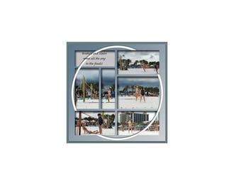 12x12 Digital Scrapbook Template (210)