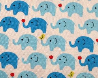 Japanese fabric Elephant printed half  yard