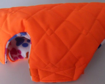 Small - Medium size waterproof and quilted Hi Vis Dog coat