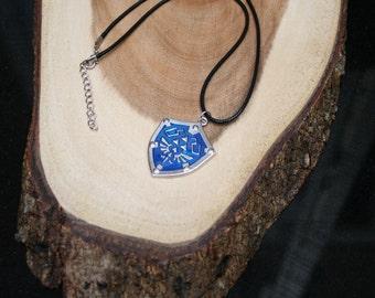 Legend of Zelda Hylian Shield Necklace