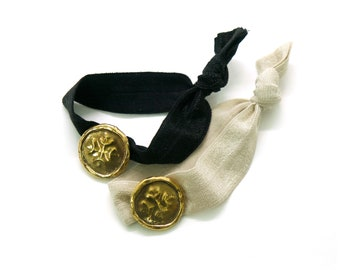 Medallion Hair Tie