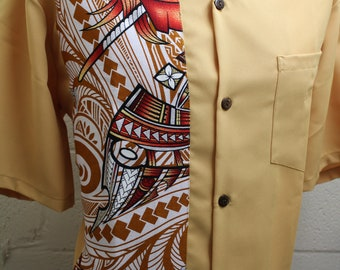 Men's Formal Tribal Shirt