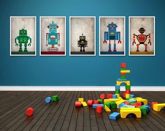 Robots Poster Set