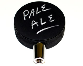 Authentic Hockey Puck Rough Surface For Chalking Beer Tap Handle