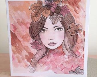 Greeting Card - Autumn