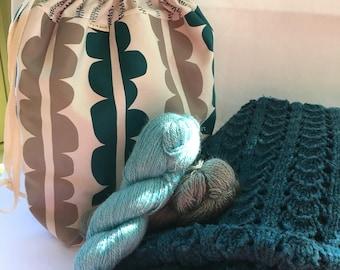 Large Project Bag/Blanket bag/ toy bag