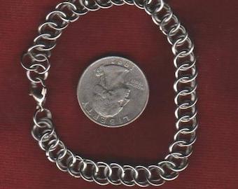 "Half Persian Bracelet Stainless Steel - 7 1/2"" Length"
