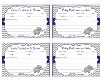 Baby Shower Words Of Wisdom Advice Cards New Mom Printable
