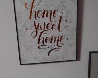 Lovely Home Sweet Home Wall Decor