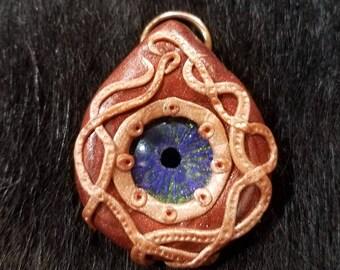 Squid eye pendant