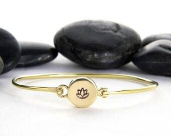Lotus Flower, Lotus Bracelet, Yoga Bracelet, Flower Bracelet, Yoga Jewelry, Lotus, Lotus Jewelry, Lotus Flower Jewelry, Gift For Her