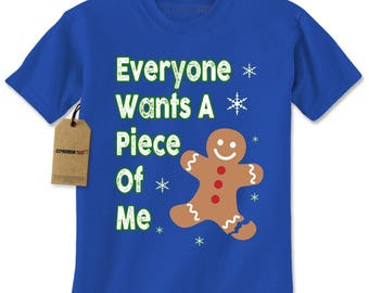 Everyone Wants A Piece Of Me Gingerbread Mens T-shirt