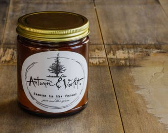 Famous in the Forest-8 oz. Soy Candle