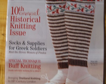Piecework Magazine 9 Projects to Knit from Around the World Historical Knitting issue January February 2016 issue