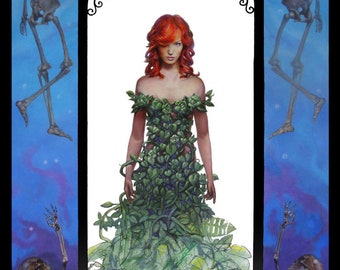 Matted 20x16 Print of oil Painting- Poison Ivy