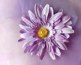 flowers, bridal, hair clip, accessories, girls, women, baby