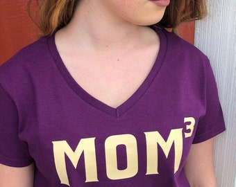 Mom Squared Cubed Custom Mother's Day Shirt